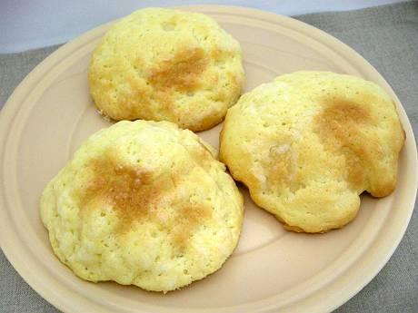 手作りのメロンパン